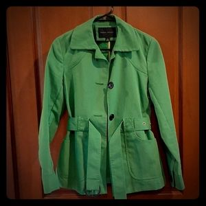 Banana Republic Green belted coat size S